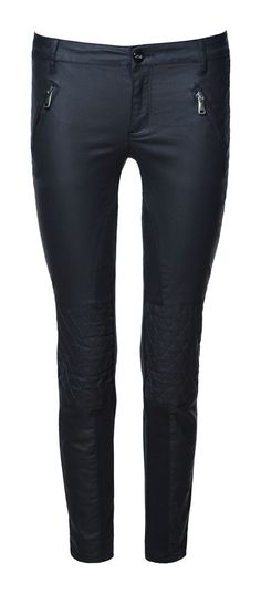 COATED TROUSERS - Trousers - Woman - ZARA United States