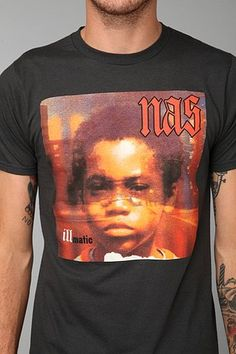 Nas Illmatic Tee - Urban Outfitters