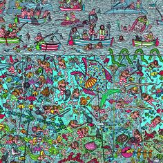 Where's Wally/ Waldo a little early today! Tumblr Wallpaper, Photo Wallpaper, Wallpaper Quotes, Ou Est Charlie, Can You Find It, Wheres Wally, Hidden Pictures, Hidden Pics, Home Learning