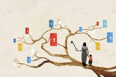 Having warm, supportive parents early on correlates with success in adulthood. (Agent Illustrateur/Ikon Images)