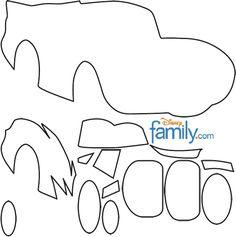 Molde Mcqueen - Disney Carros