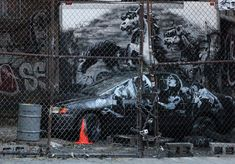 Bansky, Lower East Side, NYC Oct. 9, 2013