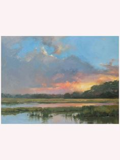 The Be Still and Know Canvas Giclee offers a serene coastal view to complete your beach house decor.Custom order. Made in USA.