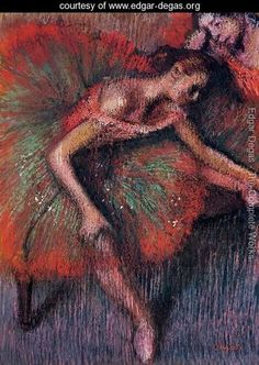 Dancers V by Edgar Degas