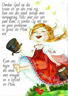 Lekker Dag, Evening Greetings, Afrikaanse Quotes, Goeie Nag, Goeie More, Grain Of Sand, Special Quotes, Day Wishes, Good Morning Quotes