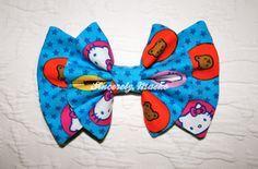 Hello Kitty Dots & Stars Bow    http://sincerelymaeko.storenvy.com