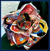 comic paper flowers - Google Search