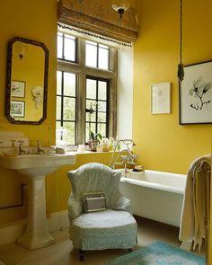 Simon Upton (@simonuptonphotos) • Instagram photos and videos Living Room Kitchen, Living Room Decor, Pink Closet, Yellow Bathrooms, Yellow Rooms, Ivy House, House 2, Steam Showers Bathroom, World Of Interiors