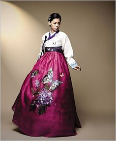 Hanbok Korean Traditional Dress Fashion Outfits