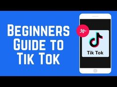 How to Make Tik Tok Videos – Beginners Guide to Tik Tok 2018 How To Be Famous, Online Fun, Video Google, Tik Tok, Songs, Teaching, Videos, Instant Pot, Youtube