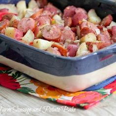 New Oxford, PA | Sausage And Potato Bake, Sausages and Potatoes