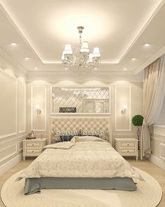 Creative Ceiling Designs For Your Master Bedroom - ceiling design House Ceiling Design, Ceiling Design Living Room, Bedroom False Ceiling Design, Luxury Bedroom Design, Home Ceiling, Home Room Design, Master Bedroom Design, Home Decor Bedroom, Bedroom Ideas