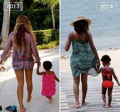 Beyoncé & Blue -  2013  -- 2014