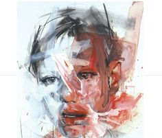 Portrait by Jenny Saville Art And Illustration, Figure Painting, Painting & Drawing, Abstract Portrait Painting, Cover Art, Tomie Ohtake, Figurative Kunst, Identity Art, A Level Art