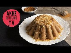 Halva with milk by the Greek chef Akis Petretzikis. Make your favorite semolina halva with milk and toasted almonds for the perfect treat! Greek Desserts, Nutrition Chart, Processed Sugar, Sweet Pie, Toasted Almonds, Good Fats, Raw Food Recipes, Milk, Treats