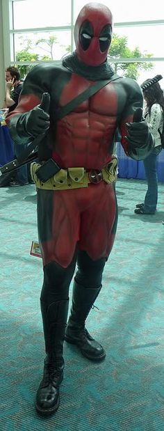 Deadpool - Deadpool thumbs up all the way Cosplay