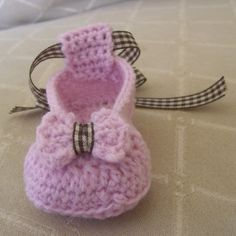 Download Now - CROCHET PATTERN Bow Beautiful Ballet Flats - Baby/Toddler - Pattern PDF