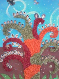 arbore inspirado nas ilustracions de AURELIA FRONTY