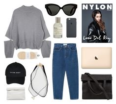 """""""coffee break"""" by jesicacecillia ❤ liked on Polyvore featuring Linda Farrow, Calvin Klein, Le Labo, Alexander Wang and Marie Turnor"""