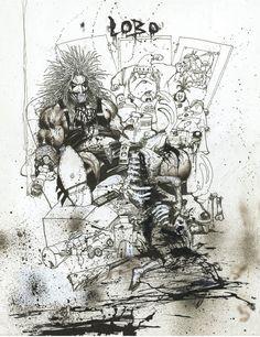 Lobo by Simon Bisley