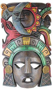 Wooden Mask:Eclipse Headdress