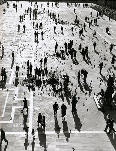 Photo by Herbert List, 1939, Piazza San Marco, Venice.
