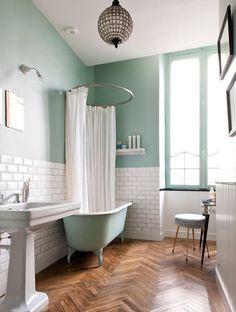 salle de bain annees 50 - Recherche Google