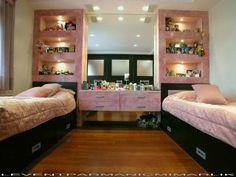 Two girl badroom