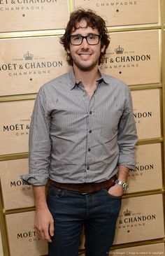 Josh Groban Pic. The Moet & Chandon Suite at the 2012 US Open ;-)
