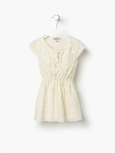 ROBE BRODERIE PALMIERS Massimo Dutti