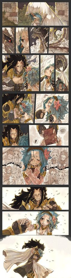 Gajeel and Levy. <3<3<3