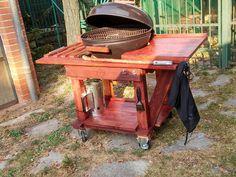 DIY Pallet BBQ Grill Table   101 Pallet Ideas