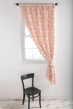 Adorable drapes for a little girls room!
