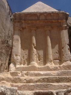 Tomb of Zachariah . Israel