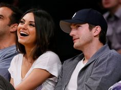 Actress Mila Kunis, left, and actor Ashton Kutcher