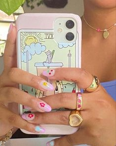 Cute Phone Cases, Iphone Cases, Hair And Nails, My Nails, Nail Ring, Funky Nails, Fire Nails, Minimalist Nails, Dream Nails