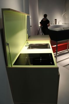 Small kitchen space? No problem. IMM show