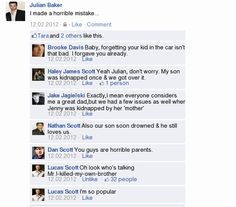 One Tree Hill on Facebook..won't lie this made me laugh