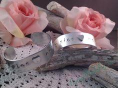 Mother/daughter bracelet.