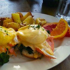 Al Cafè Divine di San Francisco abbiamo fatto colazione come gli americani