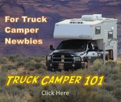 Interested in equipping your truck camper rig with a portable solar panel, but lack physical access to the batteries mounted inside your camper? Then you'll want to take a look at this modifi… Best Truck Camper, Slide In Truck Campers, Small Camper Trailers, Pickup Camper, Truck Camping, Pickup Trucks, Small Campers, Rv Campers, Travel Trailers