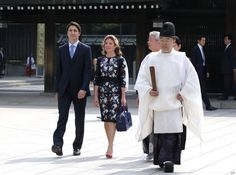 Sophie Grégoire Trudeau Continues Canadian Style Streak On Day 2 In Japan