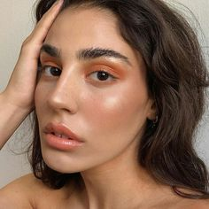 Glowy Makeup, Natural Makeup, Simple Makeup, Dramatic Makeup, Creative Makeup, Natural Beauty, Fresh Face Makeup, Minimal Makeup Look, Edgy Makeup