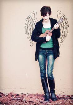 ukulele angel