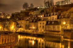 Luxembourg, Germany... I'm sure it's a cool place to visit.