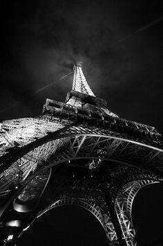 """""""Tour Eiffel"""" by Luigi Astarita Photo Tour Eiffel, Paris Tour, France 3, Black And White Pictures, Paris Travel, Belle Photo, Black And White Photography, Places To See, Scenery"""