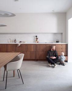 40 Swedish Minimalist Interior ~ My Dream Home Minimalist Kitchen, Minimalist Interior, Small Bedroom Furniture, Furniture Design, Interior Design Kitchen, Kitchen Decor, Corner Sofa And Chair, Concrete Kitchen, Best Kitchen Designs