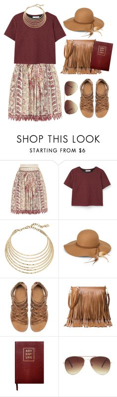 """""""Summer Adventures"""" by goycotwo ❤ liked on Polyvore featuring Etro, MANGO, Robert Lee Morris, Steve Madden, Zara, Sloane Stationery and Forever 21"""