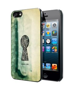 Coraline Keyhole Samsung Galaxy S3 S4 S5 Note 3 Case, Iphone 4 4S 5 5S 5C Case, Ipod Touch 4 5 Case