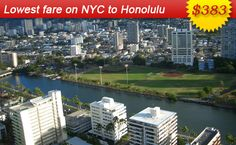 Air Fares Flight Ticket Booking to and from Honolulu Book Cheap Flights Tickets to Honolulu with AirFareMall Com We offer Great airfare deals on International and Domestic Flight Bookings